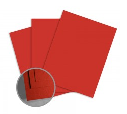 ColorMates Smooth & Silky Cardinal Red Card Stock