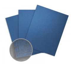 Elan Metallics Blue Jewel Card Stock