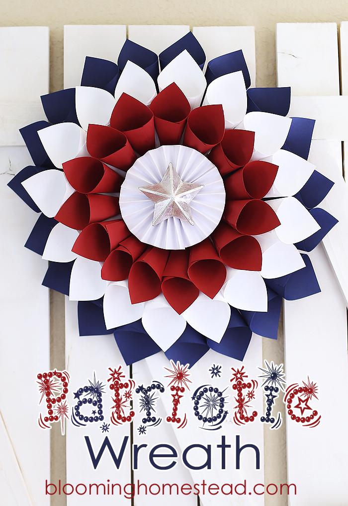 4th of July DIYs Wreath