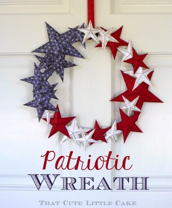 Star Wreath 4th of July