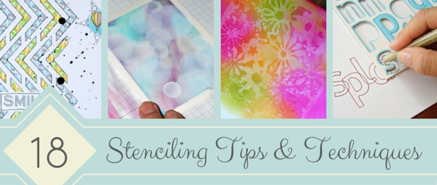 18 Stenciling Tips and Techniques