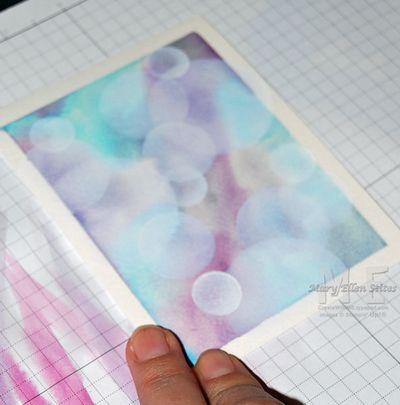 Boken Pattern Stenciling