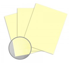 ColorMates Smooth & Silky Yellow Card Stock
