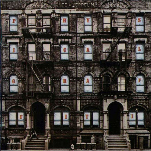 Led Zeppelin Physical Graffiti Gestalt Theory Similarity Graphic Design