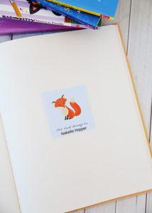 Printable Bookplates Alpha Mom Back to School