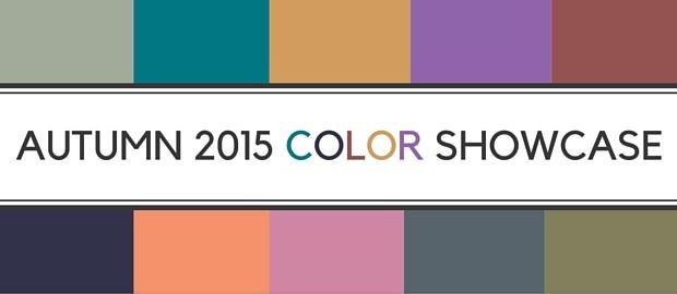 Autumn 2015 Color Showcase
