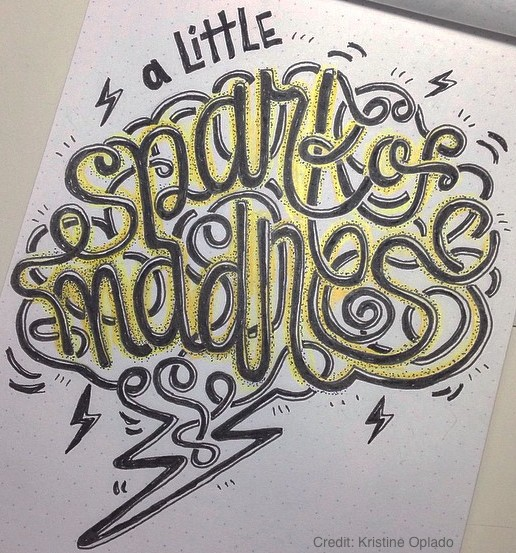 Get Colorful Hand Lettering