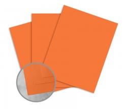 Exact Brights Bright Tangerine Card Stock