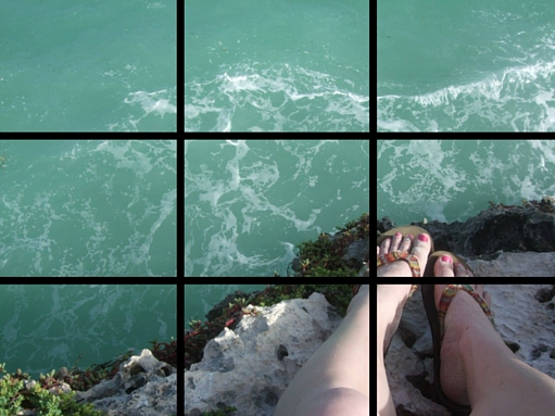 Rule of Thirds Graphic Design Principles Focal Point