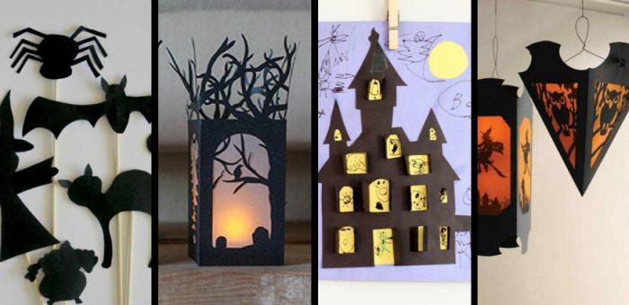 16 Halloween Paper Crafts, Decorations, & Activities