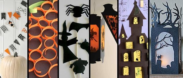 Halloween Paper Crafts Decorations Kids Activities