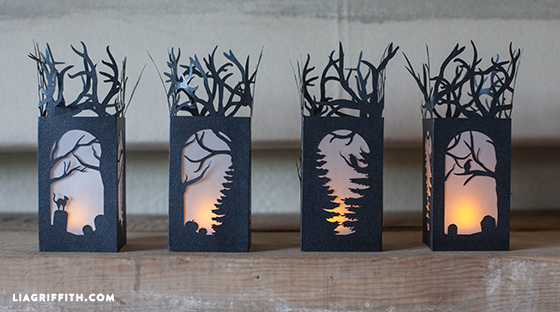 Halloween Paper Lanterns Lia Griffith