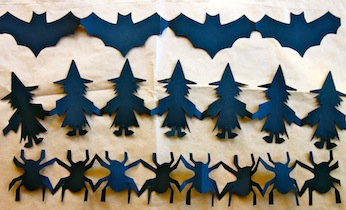 16 Halloween Paper Crafts Decorations Activities