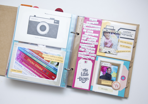 Ashley Newell Paper Suite Pocket Pages Scrapbooking