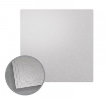 ASPIRE Petallics Silver Ore Flat Cards