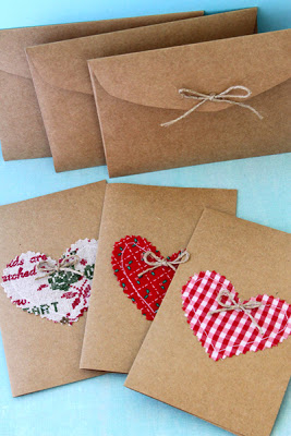 Kraft Paper Holiday Cards