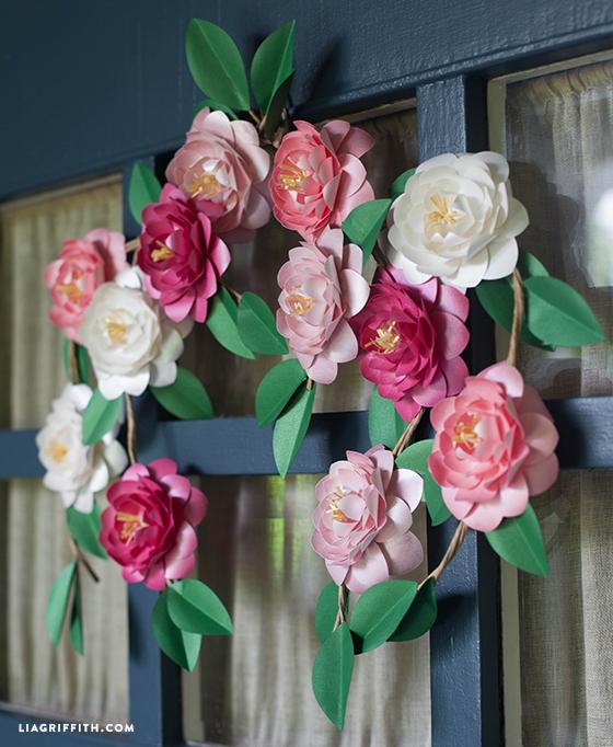 Paper Camellias Lia Griffith