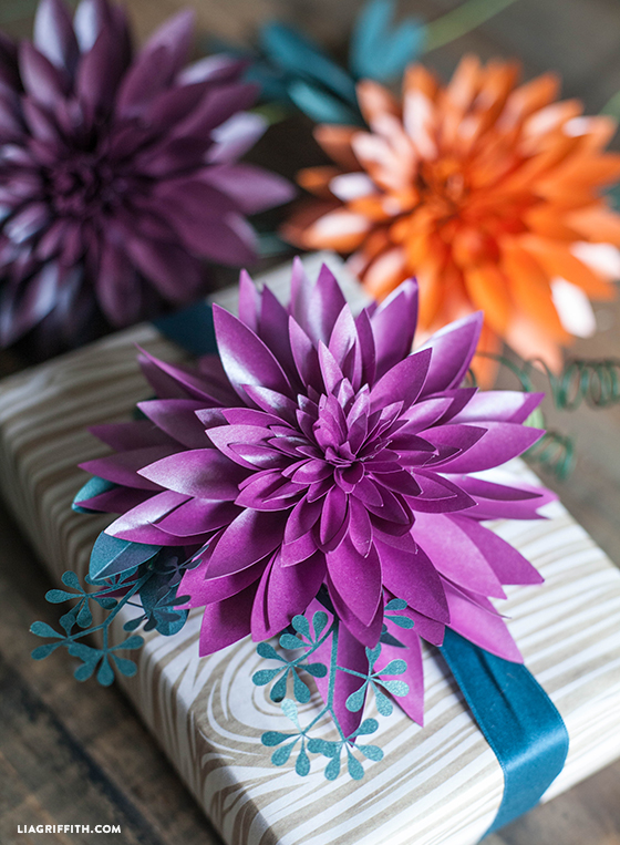 Paper Dahlias Lia Griffith