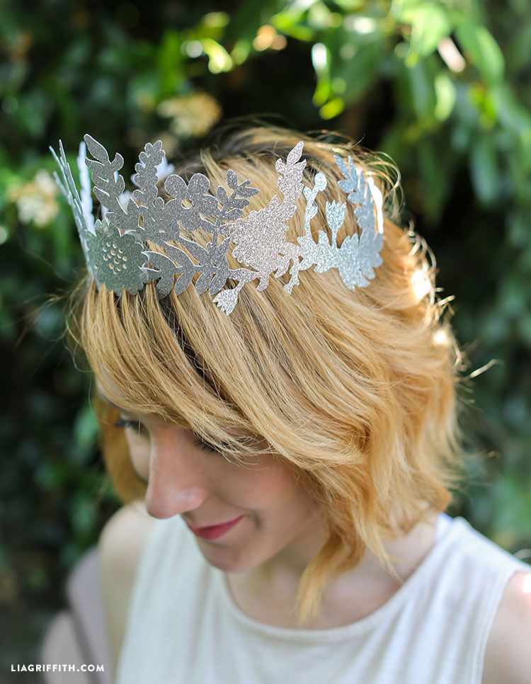 Paper Fairy Crown Lia Griffith