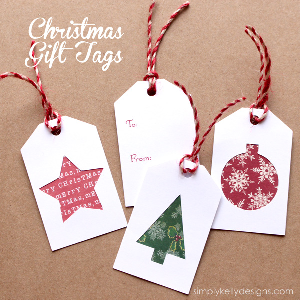 Homemade Wedding Gift Tags : Learn how to make your own and download the Christmas cutting files ...