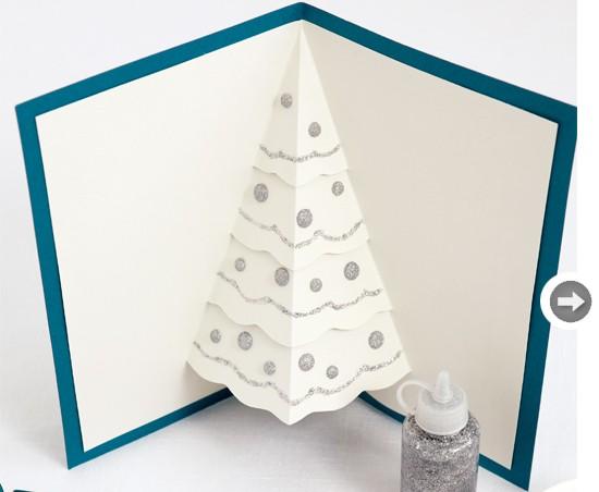 Pop Up Tree Holiday Card