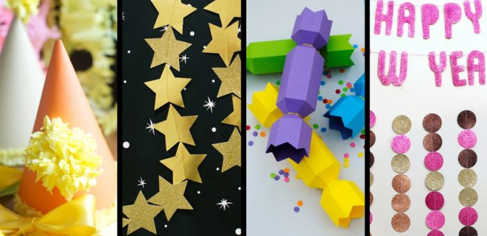 14 New Year's Decorations & Paper Crafts