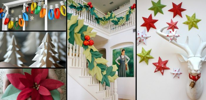 16 Effortless Paper Christmas Decorations