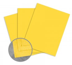 Cascata Golden Yellow Card Stock