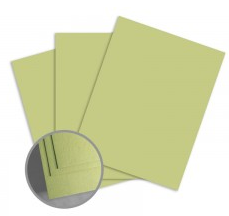 ColorMates Medium Spring Green Card Stock
