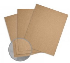Kraft Brown Card Stock