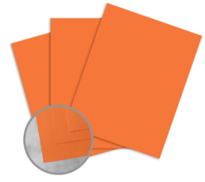 Exact Brights Bright Tangerine Card Stock