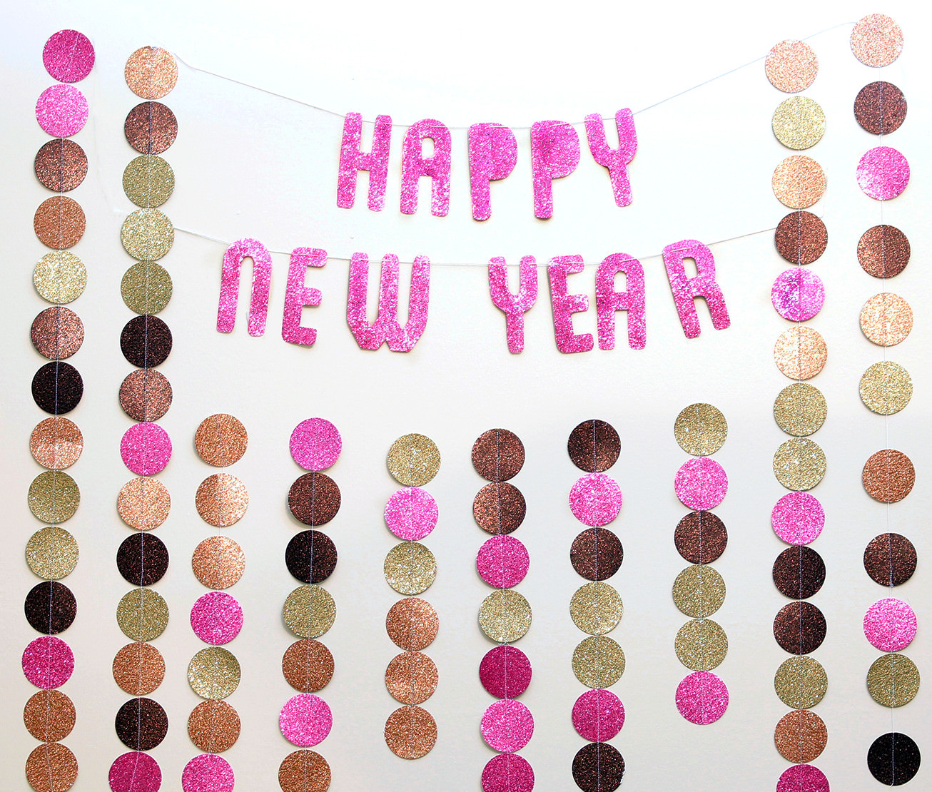 nye new years eve photo backdrop banner