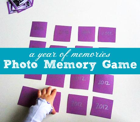 NYE New Years Eve Photo Memory Game