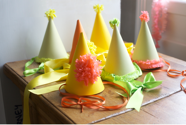 Paper Party Hats NYE New Years Eve