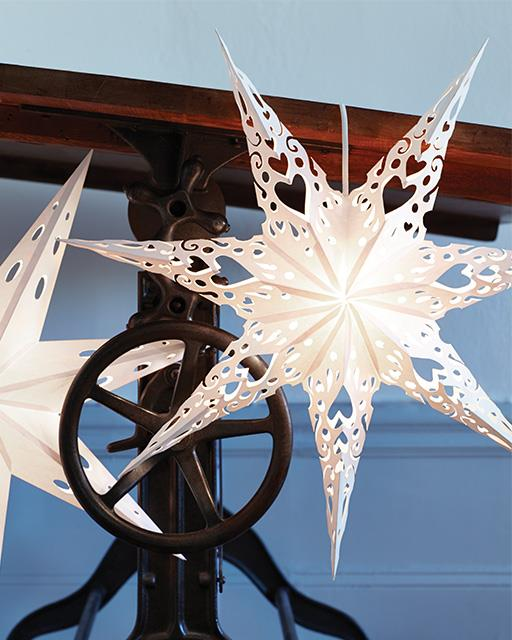 Swedish Paper Stars Christmas Decorations