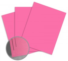 ColorMates Smooth & Silky Cyclamen Pink Card Stock