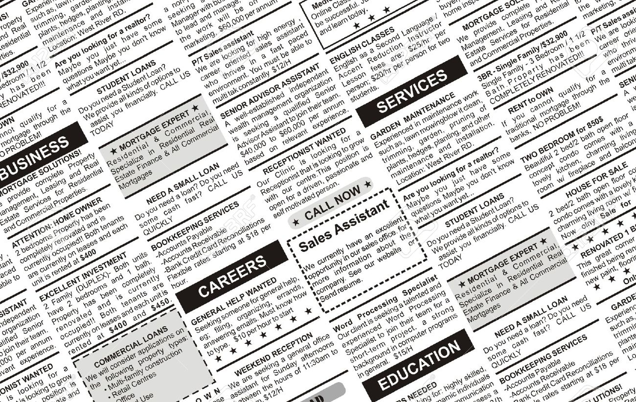White Space Typeface Newspaper