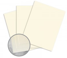 CLASSIC Laid Baronial Ivory Card Stock