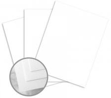 Via Linen Pure White Paper 24 lb