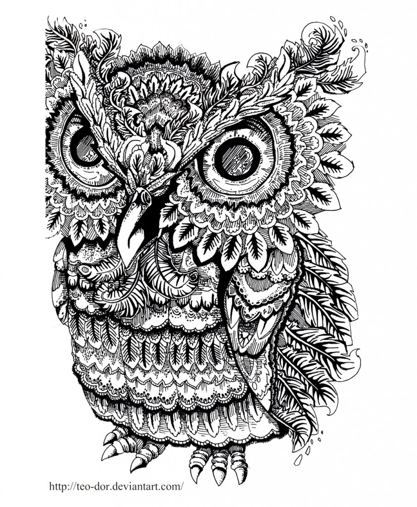 coloring-adult-owl-big-eyes