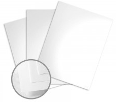 Color Copy Gloss Pure White Card Stock 100 lb