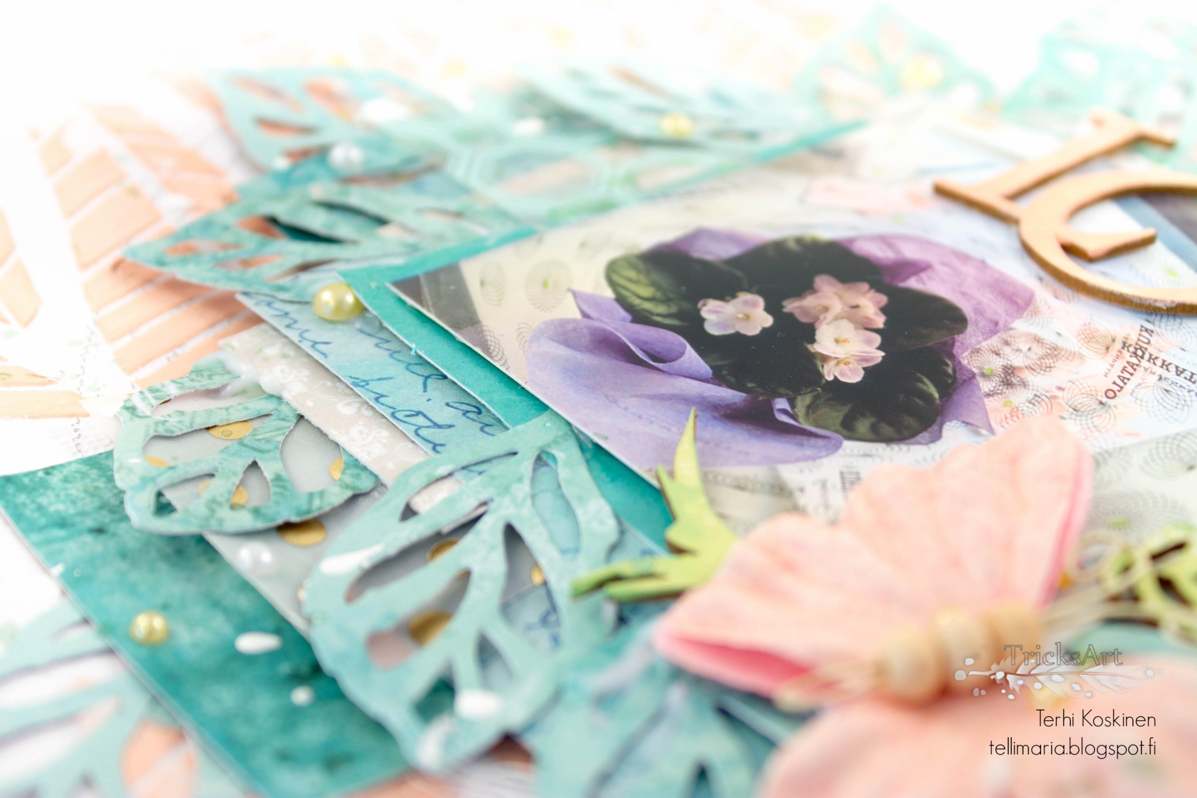 embellishing scrapbooks