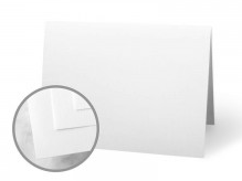 CLASSIC CREST Solar White Folded Cards