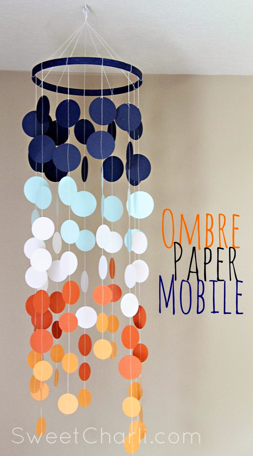 ombre paper mobile