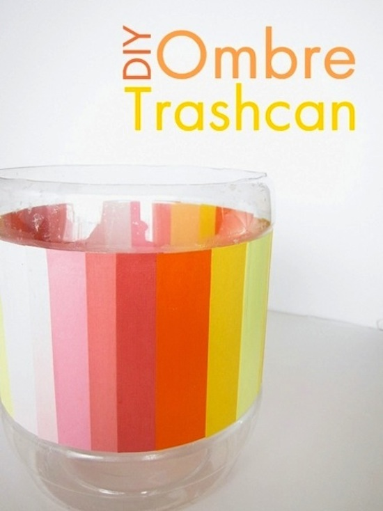 ombre-trash-can
