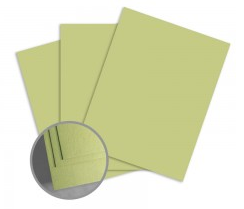 ColorMates Medium Spring Green Card Stock