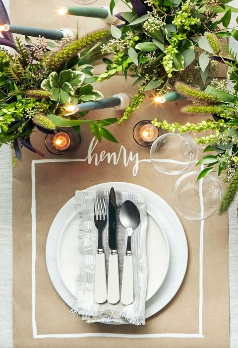 alternative kraft paper placecards