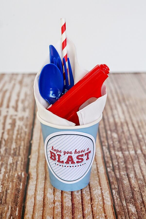 blast cup wrappers