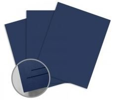 ColorMates Smooth & Silky Sapphire Blue Card Stock