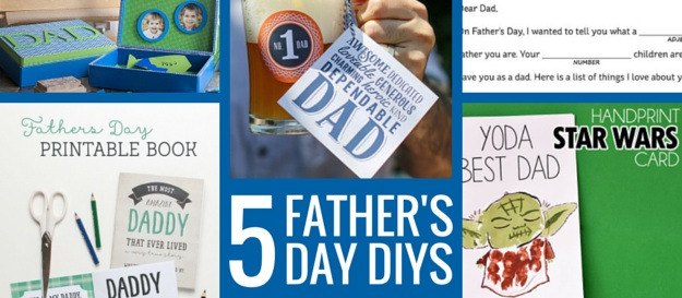 5 fathers day diys